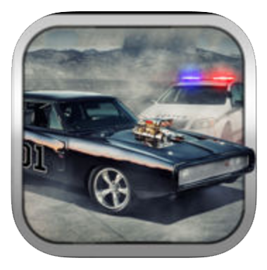 Top Speed Muscle Cars Race of Hazard Hill - Police Chase Racing - Apprisetec LLC